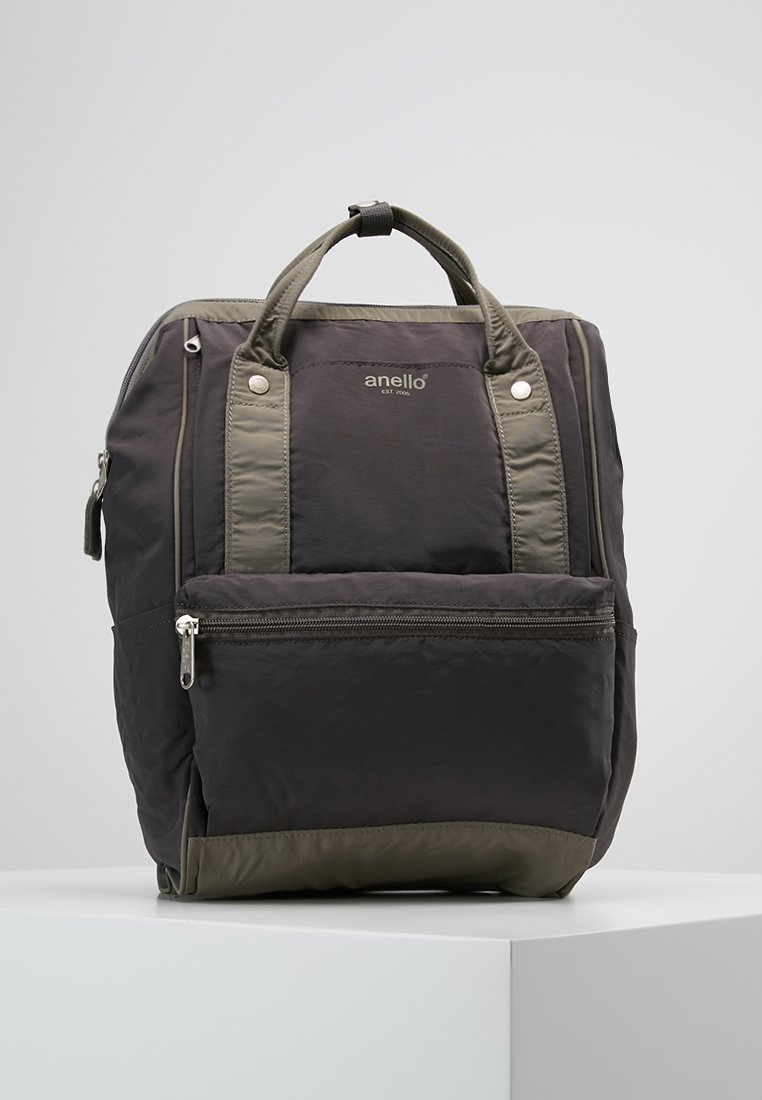 anello - TOTE BACKPACK PAPER TOUCH - Rygsække - khaki