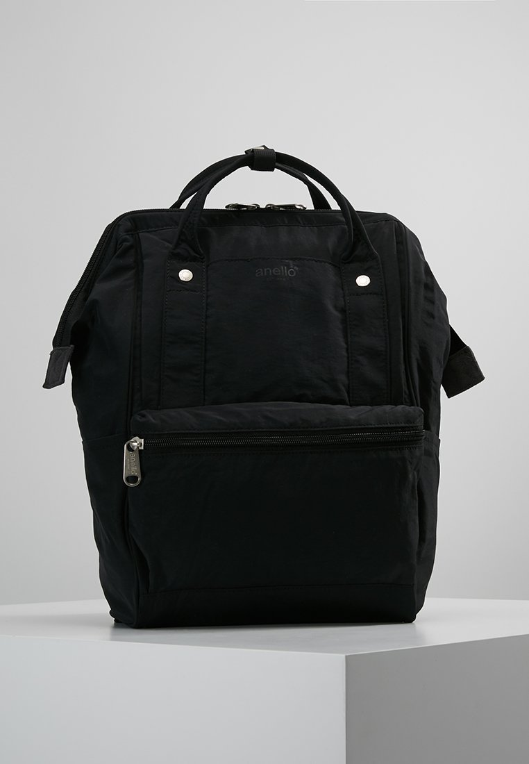 anello - TOTE BACKPACK PAPER TOUCH - Sac à dos - black