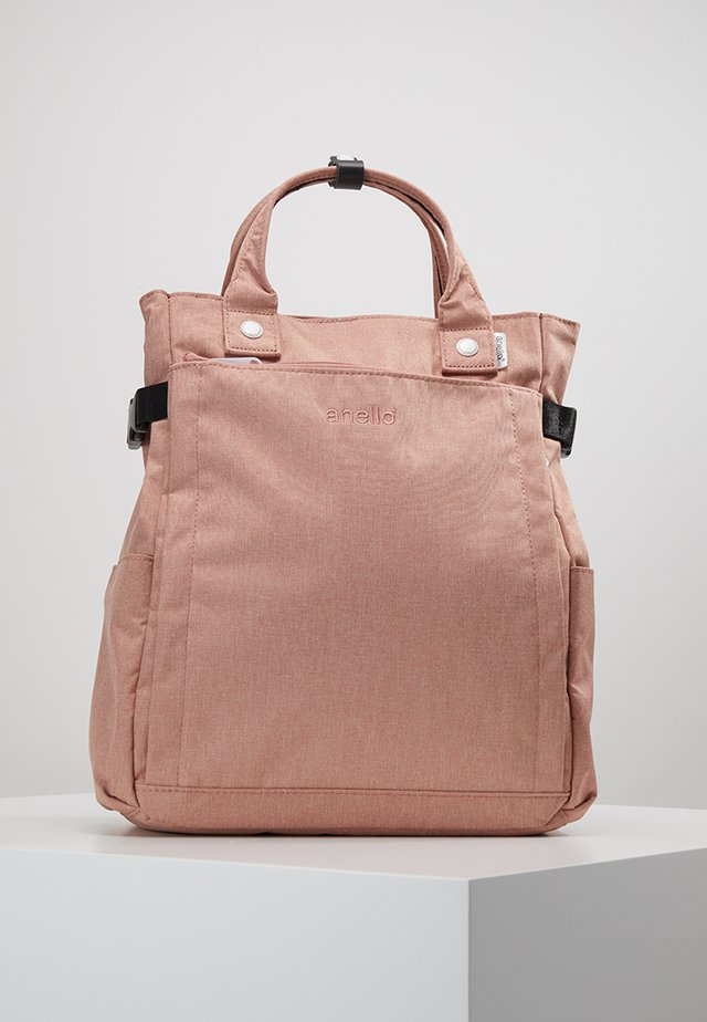 2 WAY BACKPACK - Sac à dos - nude pink
