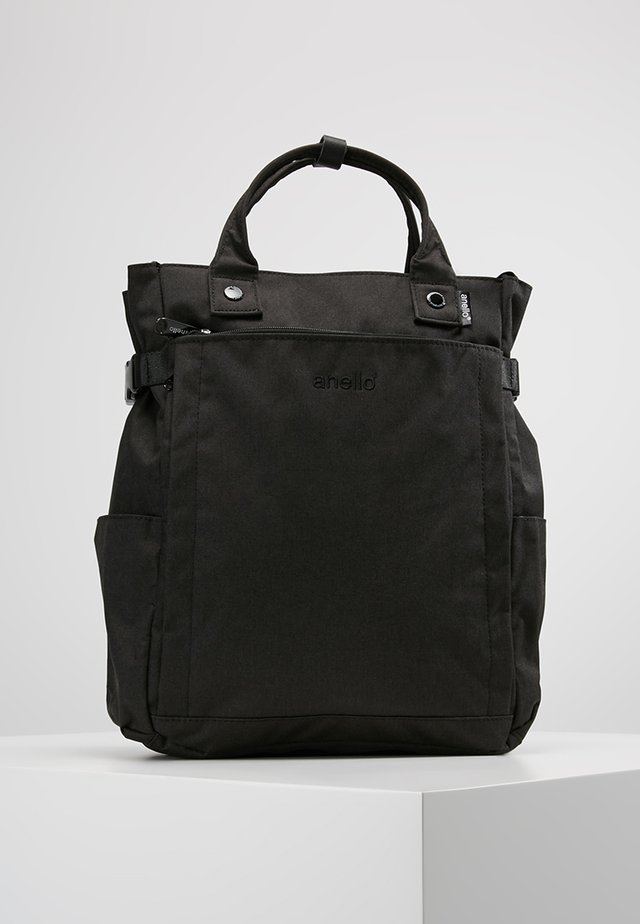 2 WAY BACKPACK - Tagesrucksack - black