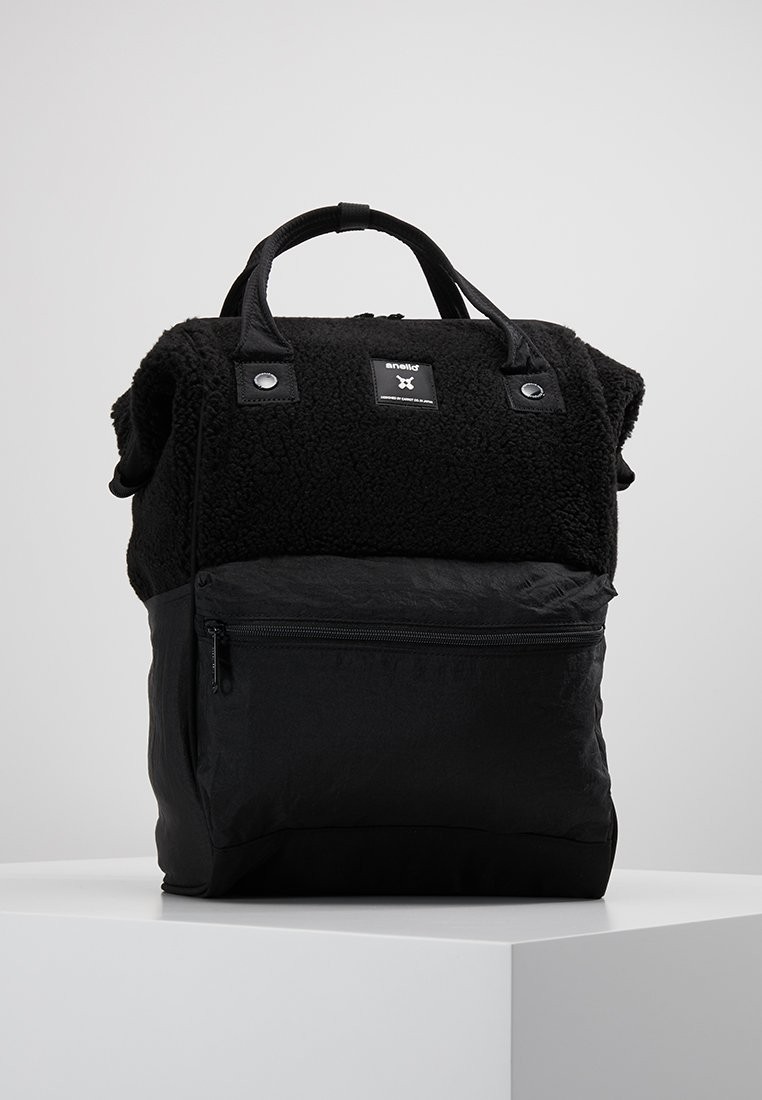 anello - TEDDY BORG HINGE BACKPACK - Rucksack - black
