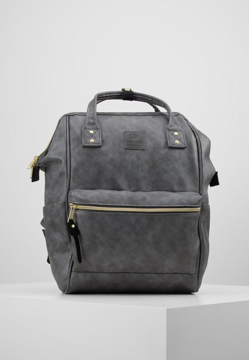 anello - VEGAN TOTE  - Ryggsäck - mottled dark grey