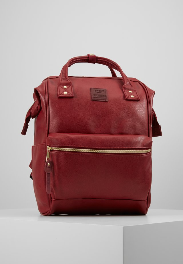 VEGAN - Rucksack - dark red