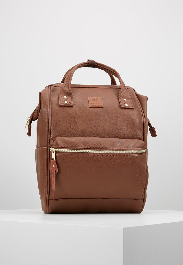 anello - VEGAN TOTE  - Reppu - brown
