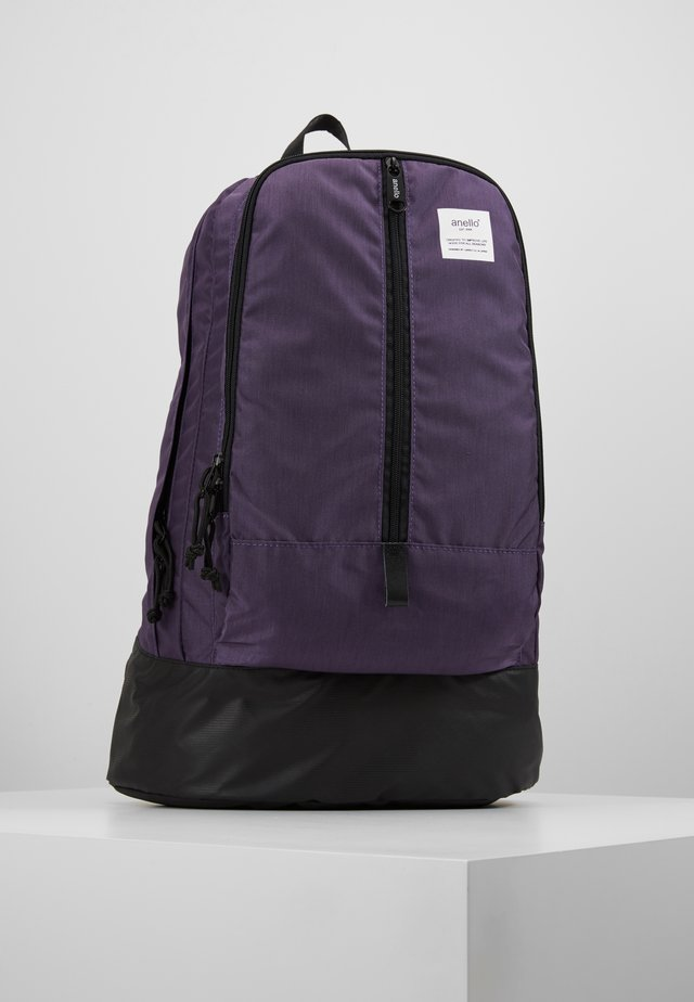 CENTRE ZIP BACKPACK - Sac à dos - purple