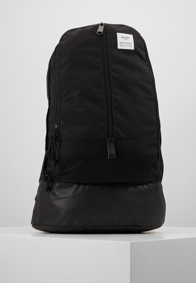 CENTRE ZIP BACKPACK - Rucksack - black