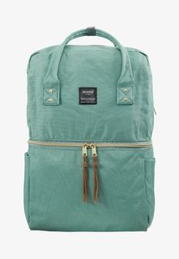 anello - SQUARE TOTE BACKPACK - Reppu - mint green - 7