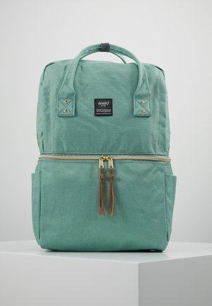 SQUARE TOTE BACKPACK - Ryggsäck - mint green