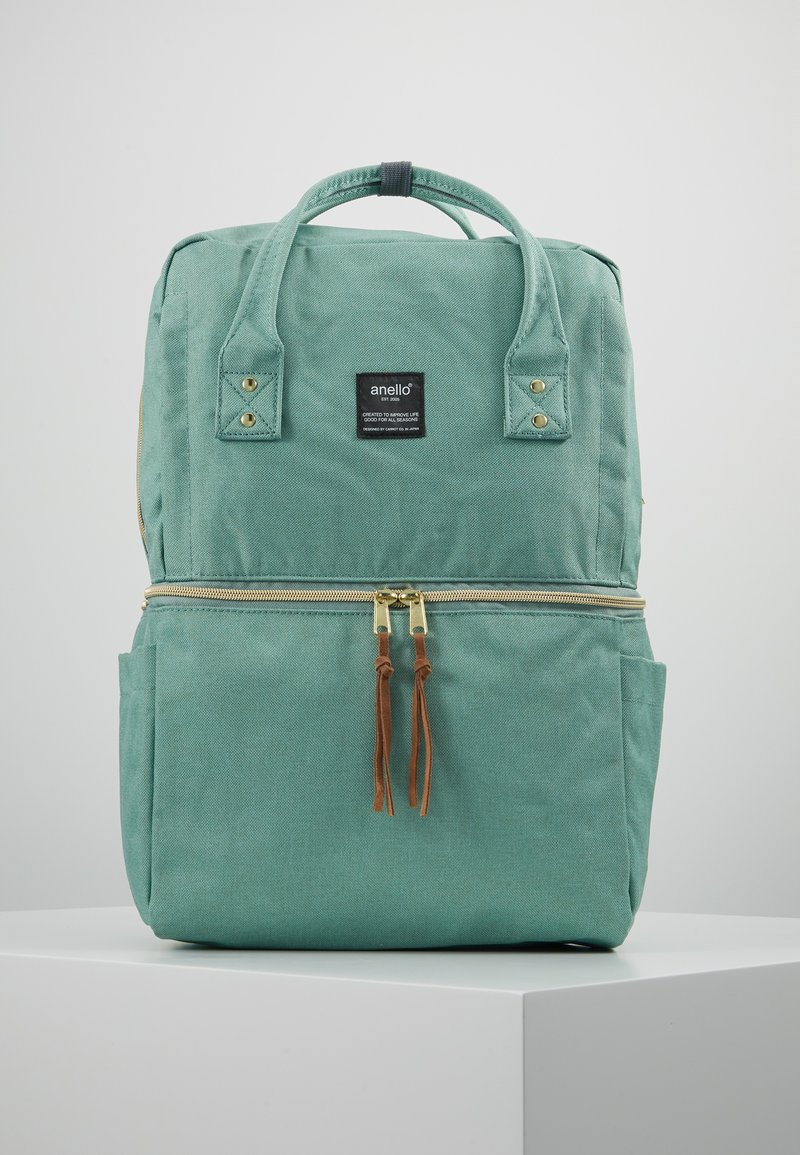 anello - SQUARE TOTE BACKPACK - Reppu - mint green