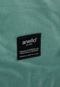 anello - SQUARE TOTE BACKPACK - Reppu - mint green - 8