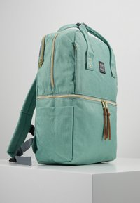 anello - SQUARE TOTE BACKPACK - Reppu - mint green - 3