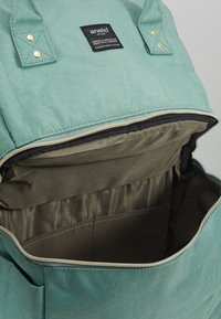 anello - SQUARE TOTE BACKPACK - Reppu - mint green - 5