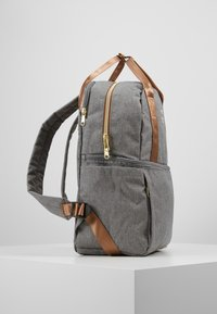 anello - CHUBBY BACKPACK - Tagesrucksack - grey - 4