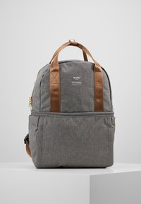 anello - CHUBBY BACKPACK - Tagesrucksack - grey - 0