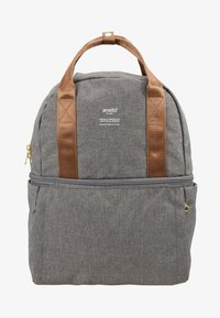 anello - CHUBBY BACKPACK - Tagesrucksack - grey - 1