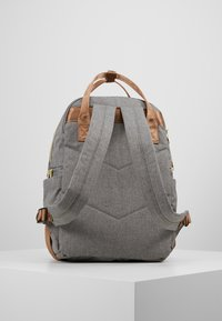 anello - CHUBBY BACKPACK - Tagesrucksack - grey - 3
