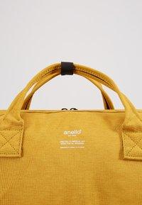 anello - MELANGE TOTE - Rucksack - mustard - 2