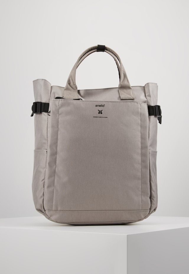 OPEN TOTE BACKPACK - Sac à dos - light grey