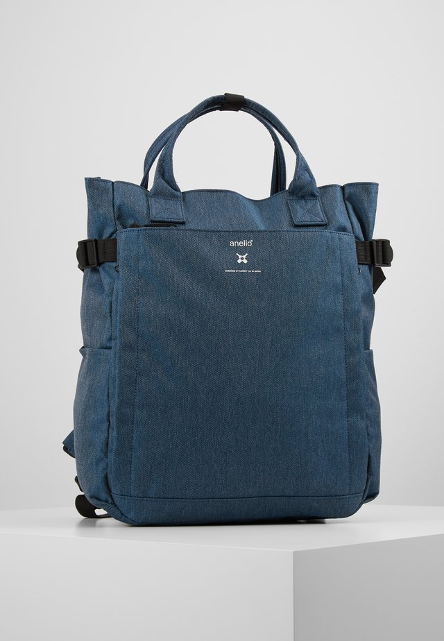OPEN TOTE BACKPACK - Tagesrucksack - navy