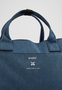 anello - OPEN TOTE BACKPACK - Rucksack - navy - 2