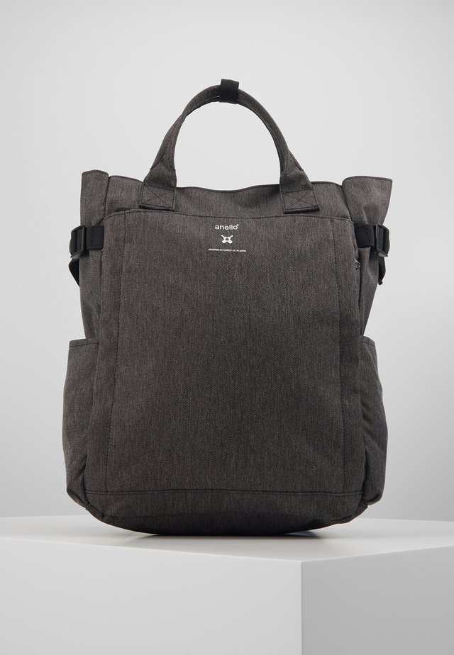 OPEN TOTE BACKPACK - Rucksack - black