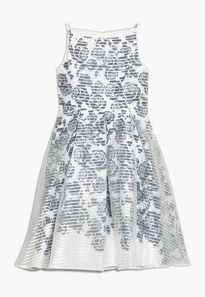 ROSE STRIPE OVERLAY DRESS - Cocktail dress / Party dress - navy/white