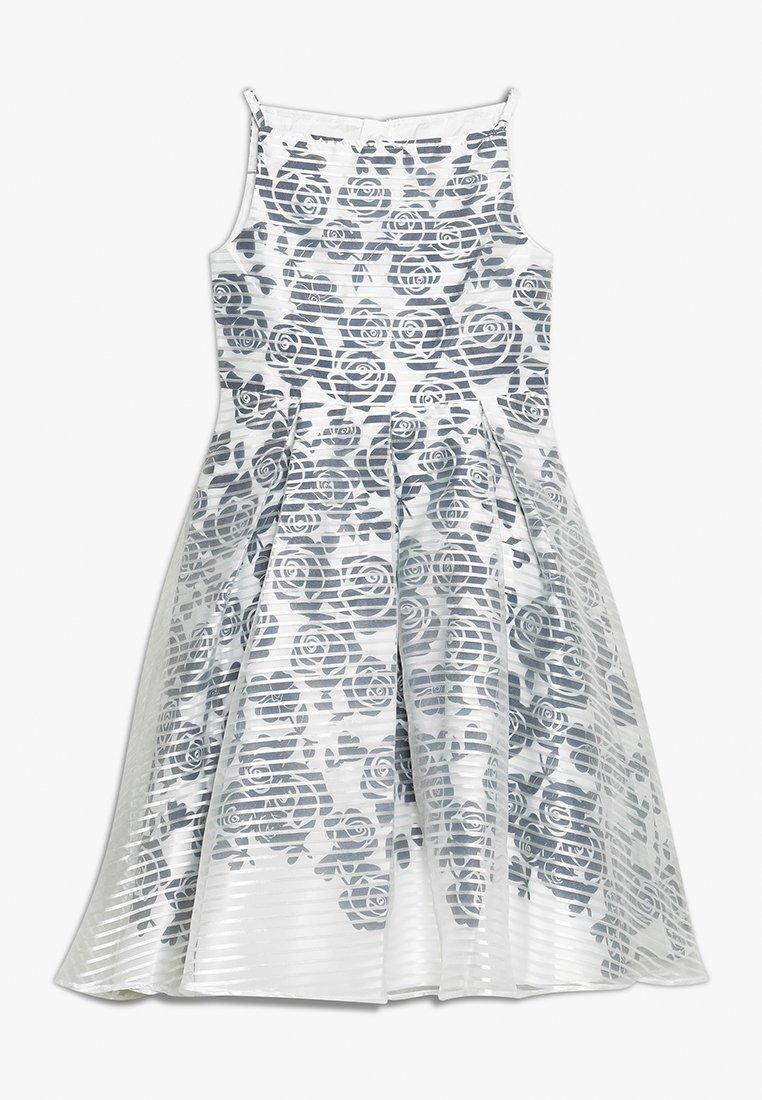 Angel & Rocket - ROSE STRIPE OVERLAY DRESS - Cocktailkleid/festliches Kleid - navy/white