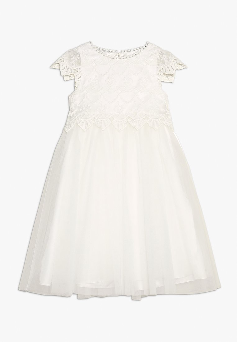 Angel & Rocket - TOP PETAL WAIST DRESS - Vestido de cóctel - ivory
