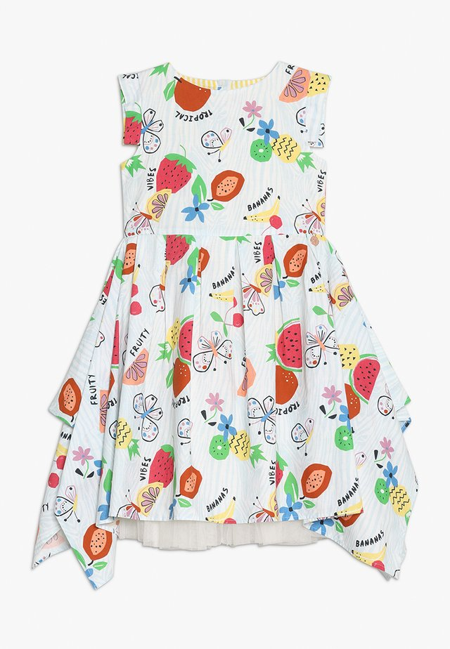 TROPICAL SQUARE DRESS - Korte jurk - multi
