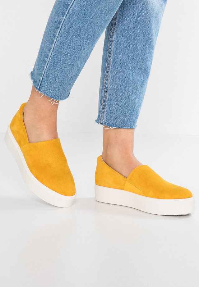 NO NONSENSE - Slipper - saffron yellow