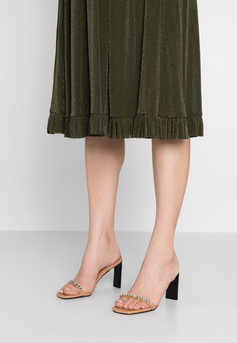 ANNY NORD - UH HUH HONEY - Højhælede sandaletter / Højhælede sandaler - beige