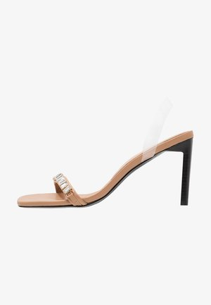 UH HUH HONEY - High heeled sandals - beige