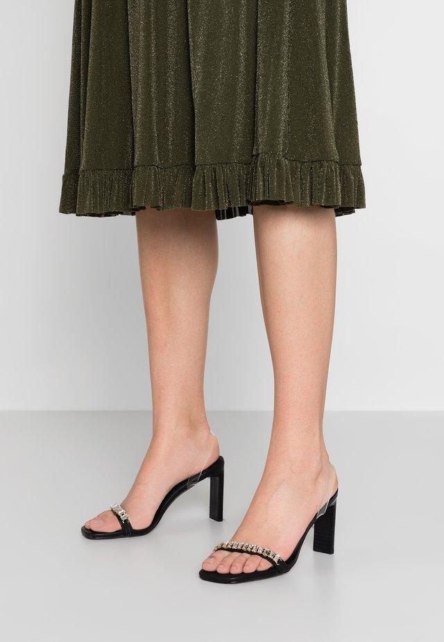 UH HUH HONEY - Højhælede sandaletter / Højhælede sandaler - black