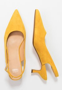 ANNY NORD - TO THE POINT - Klassiske pumps - saffron yellow - 3