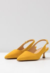 ANNY NORD - TO THE POINT - Klassiske pumps - saffron yellow - 4