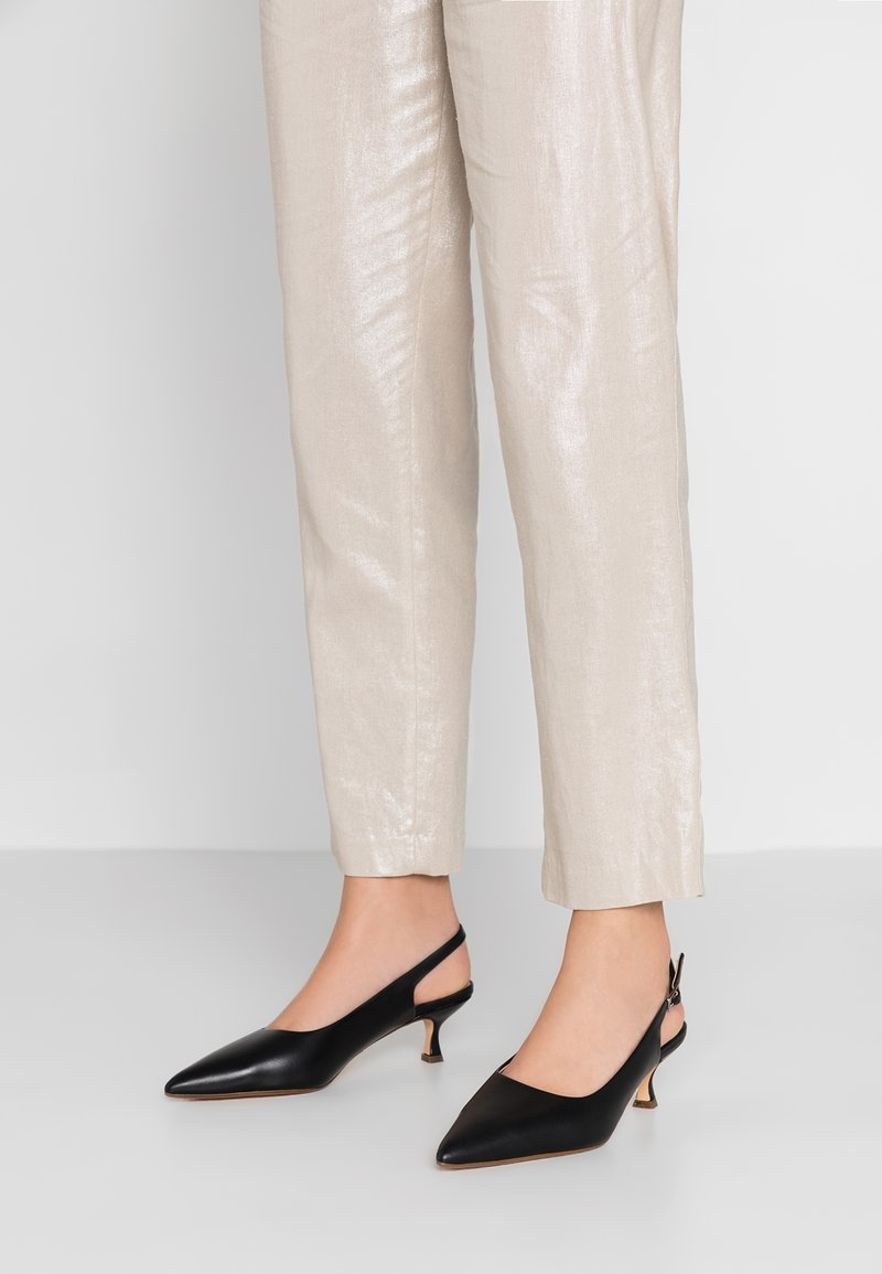ANNY NORD - TO THE POINT - Tacones - black