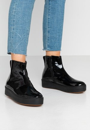 NOBODY IS PERFECT HIGH TOP - Ankelboots - black