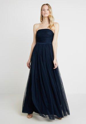 ANAYA WITH LOVE BANDEAU MAXI DRESS - Společenské šaty - navy