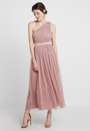 ONE SHOULDER - Occasion wear - pearl blush