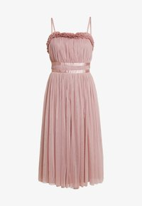 Anaya with love - ANAYA GATHERED RUFFLE MIDI - Cocktailjurk - pearl blush - 5