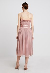 Anaya with love - ANAYA GATHERED RUFFLE MIDI - Cocktailjurk - pearl blush - 3