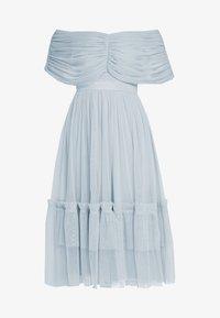 Anaya with love - ANAYA WITH LOVE GATHERED BARDOT MIDI DRESS - Vestito elegante - baby blue - 4