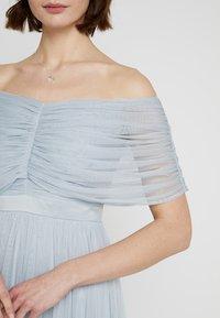 Anaya with love - ANAYA WITH LOVE GATHERED BARDOT MIDI DRESS - Vestito elegante - baby blue - 5