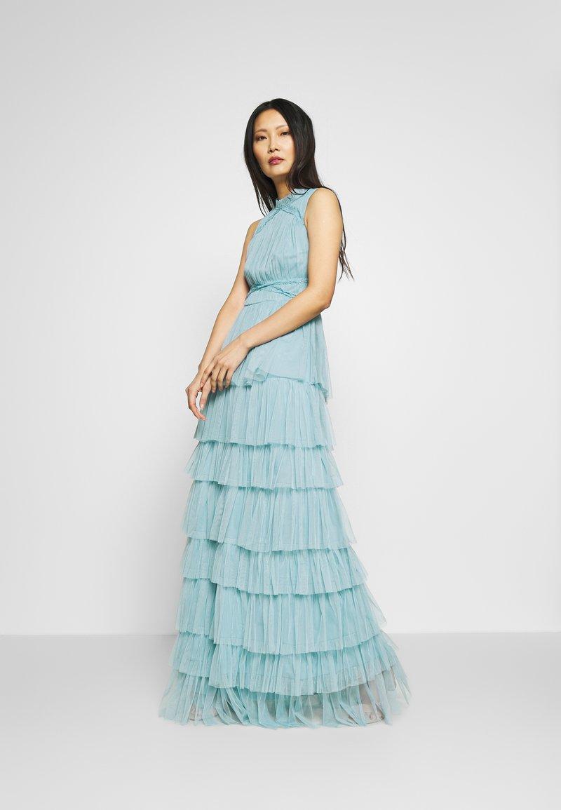 Anaya with love - SLEEVELESS TIERED DRESS - Společenské šaty - cornflower blue