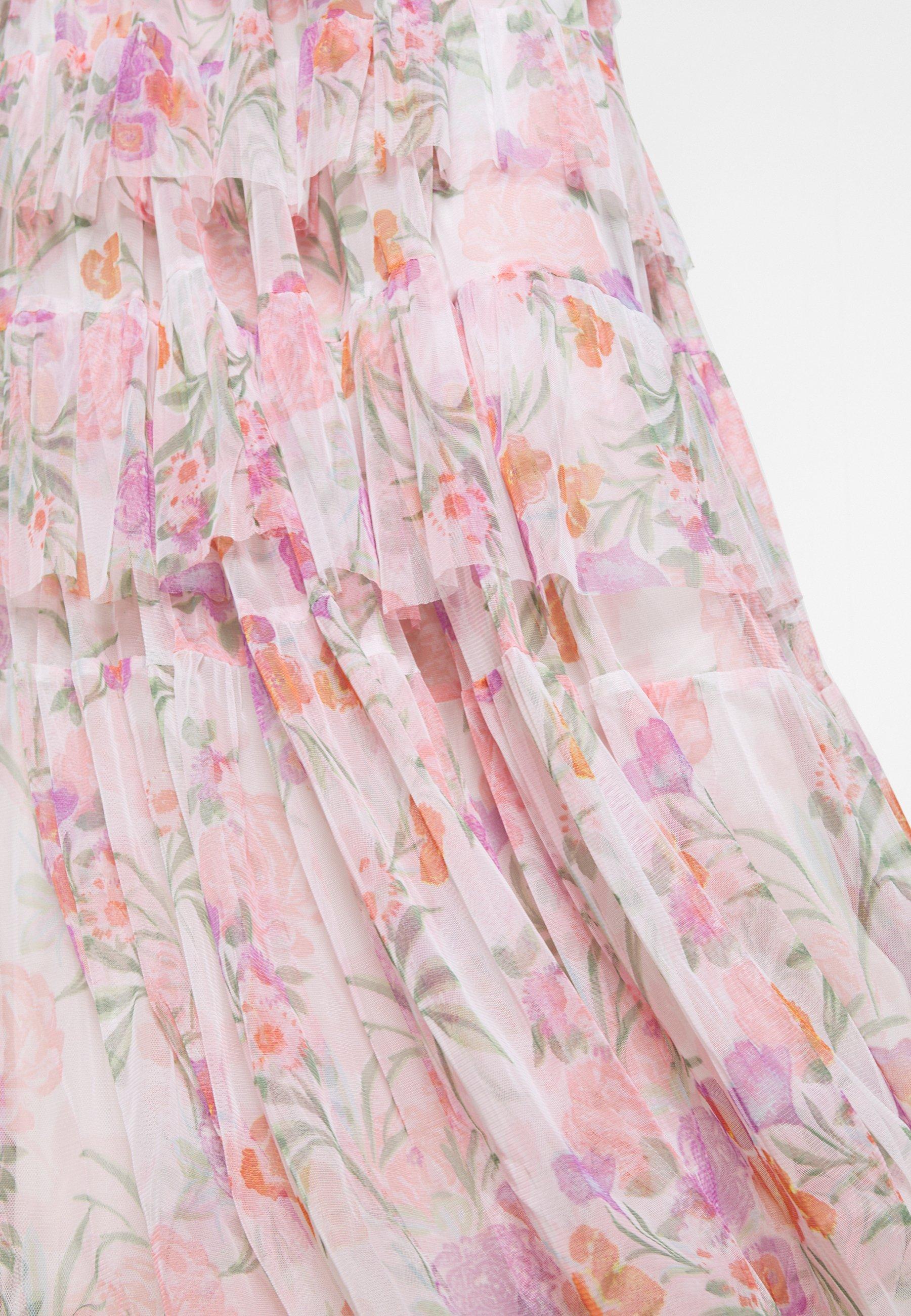 Anaya With Love Bandeau Tiered Maxi Dress - Iltapuku White