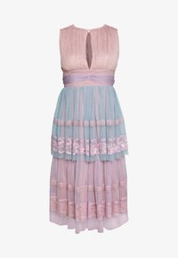 Anaya with love - SLEEVELESS KEY HOLE DRESS WITH TIER SKIRT - Galajurk - multi - 4