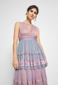 Anaya with love - SLEEVELESS KEY HOLE DRESS WITH TIER SKIRT - Galajurk - multi - 3