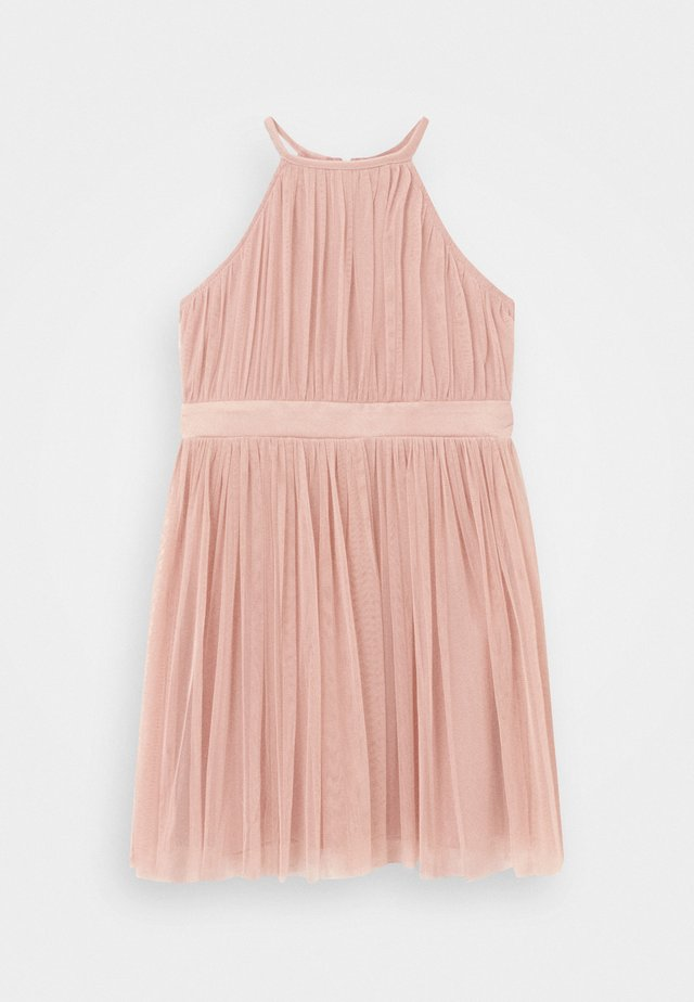 Cocktail dress / Party dress - rose gold-coloured