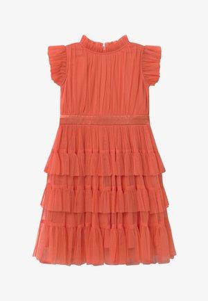 Sukienka koktajlowa - coral orange