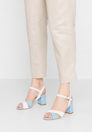 ALICE - Sandály - blue/offwhite